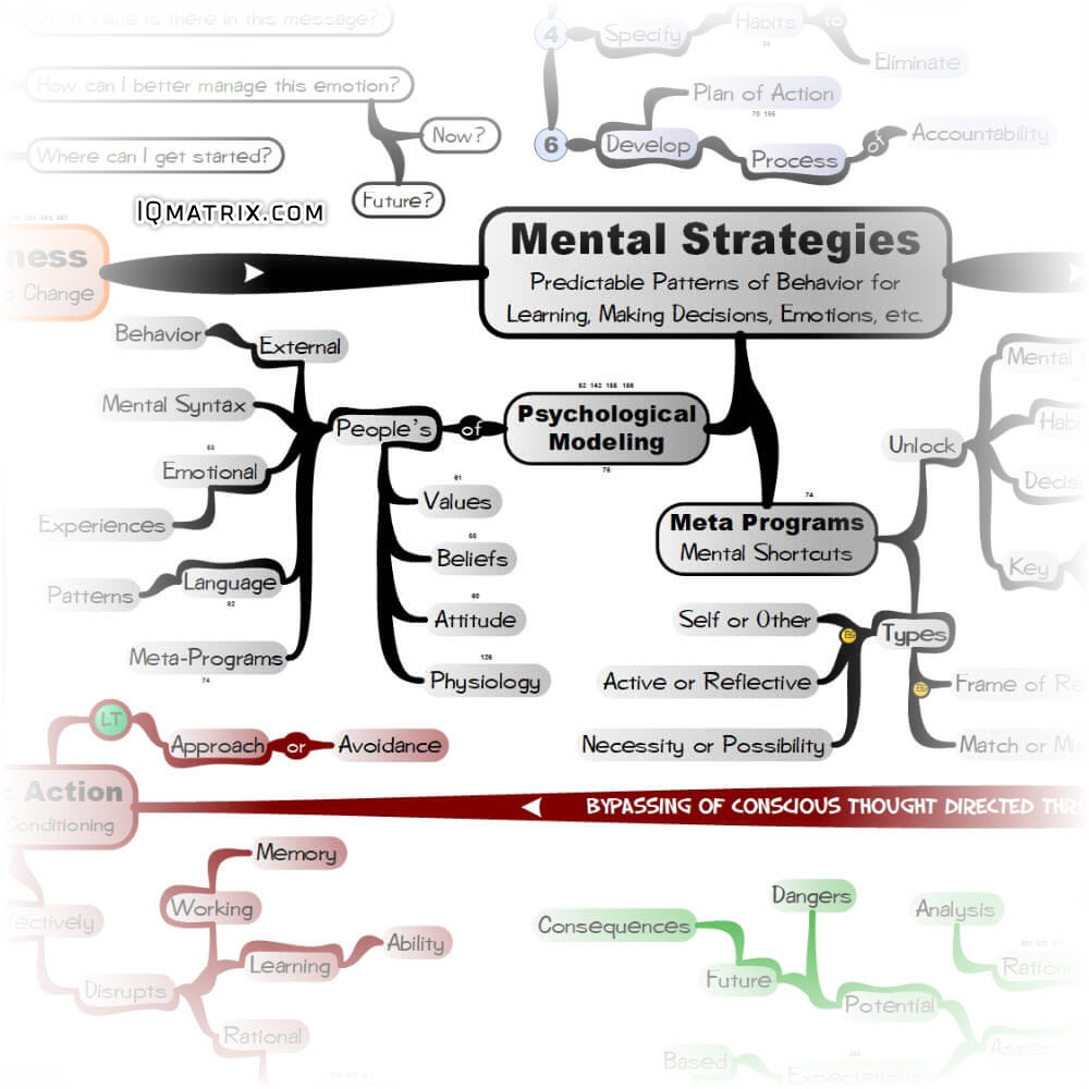 Mental Strategies and Psychological Modeling
