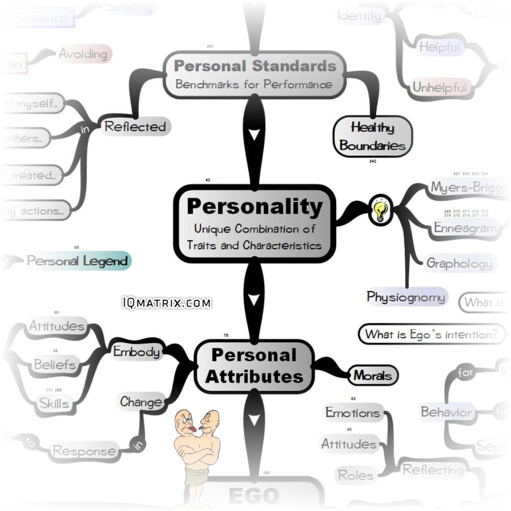 Personality, Personal Attributes and Standards